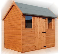 8 x 6 Hipex Apex Shed