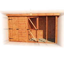 8 x 4 Pent Kennel