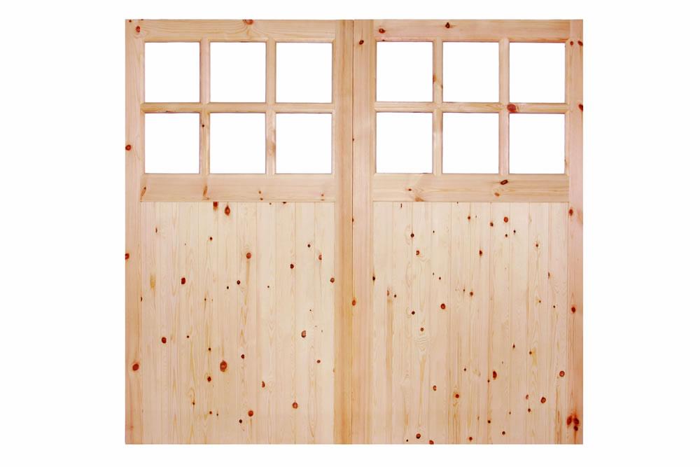 6 39 6 high x 7 39 0 wide redwood 301 glazed garage door pre for 10 wide garage door