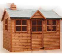 The Snowdrop Cottage 6 x 4 supply & erect