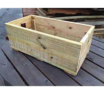 800 X 400 X 300MM Decking Planter assembled