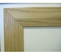 2.2m x 15 x 70 oak Bevelled MDF Veneer architrave