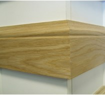 3.6m x 15 x 95 oak Og MDF Veneered Skirting