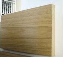 2.2m x 18 x 145 oak MDF Veneered plate