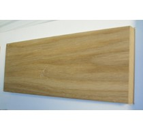 2.2m x 18 x 95 oak MDF Veneered plate