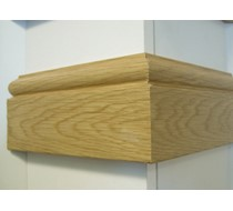 2.2m x 18 x 95 oak Taurus MDF Veneered Architrave