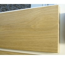 2.2m x 25 x 145 oak MDF Veneered plate