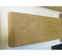 2.2m x 25 x 95 oak MDF Veneered plate
