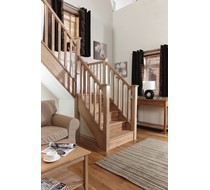 Oak Handrail Conversion Kit 13 tread and landing