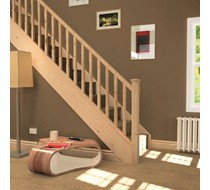 Pine staircase conversion Kit 13 tread and landing