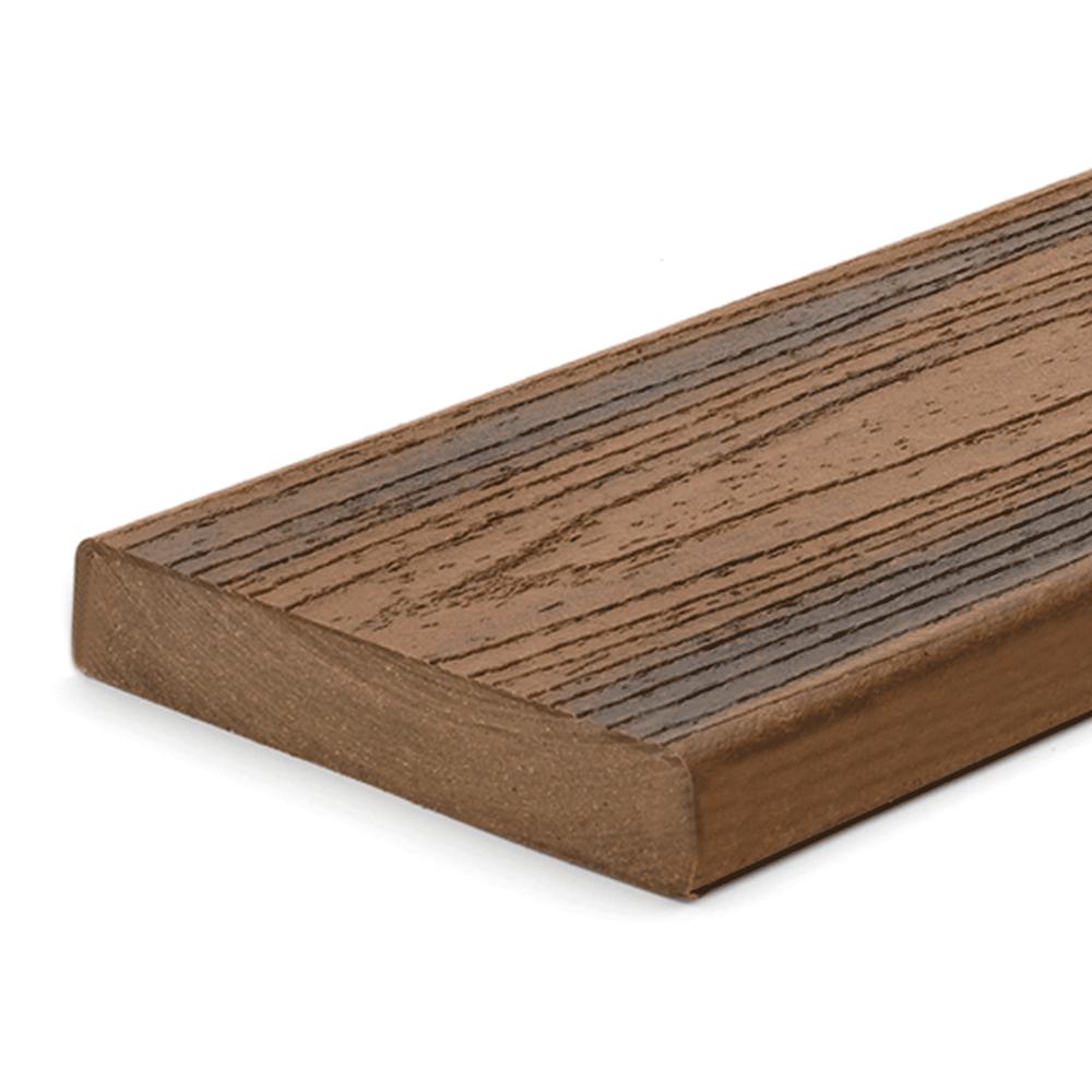 Trex transcend spiced rum square edge boards pre for Decking boards glasgow