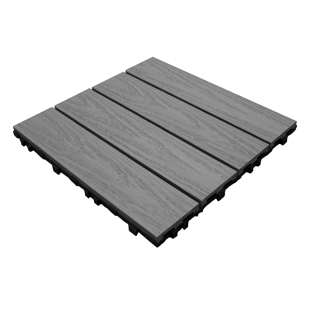 Ultrashield grey deck tiles 09 sqm pre finished wooden flooring ultrashield grey deck tiles 09 sqm dailygadgetfo Image collections