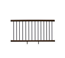 UltraShield Walnut Railing Kit