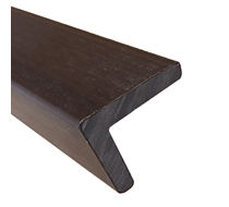 2.2m UltraShield Walnut Angle Edging