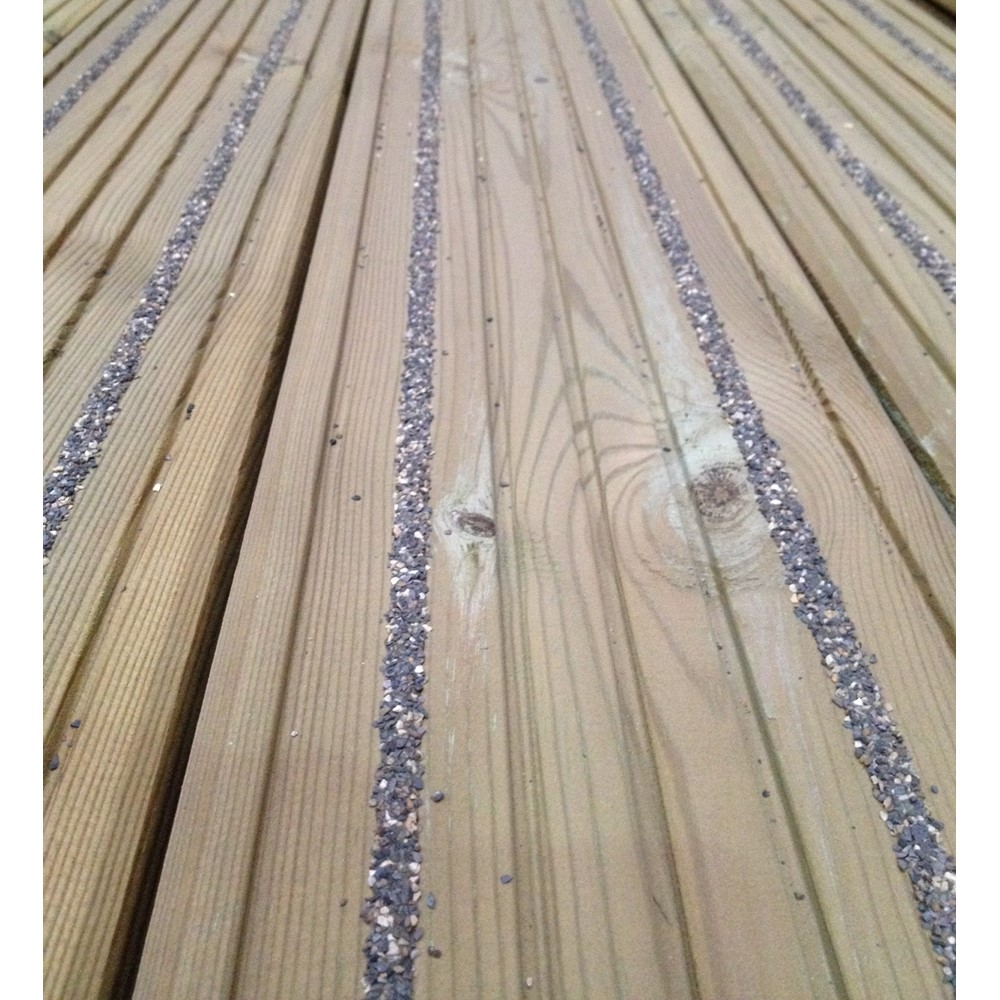 X 145 x 28 non slip decking board pre finished for Non wood decking boards