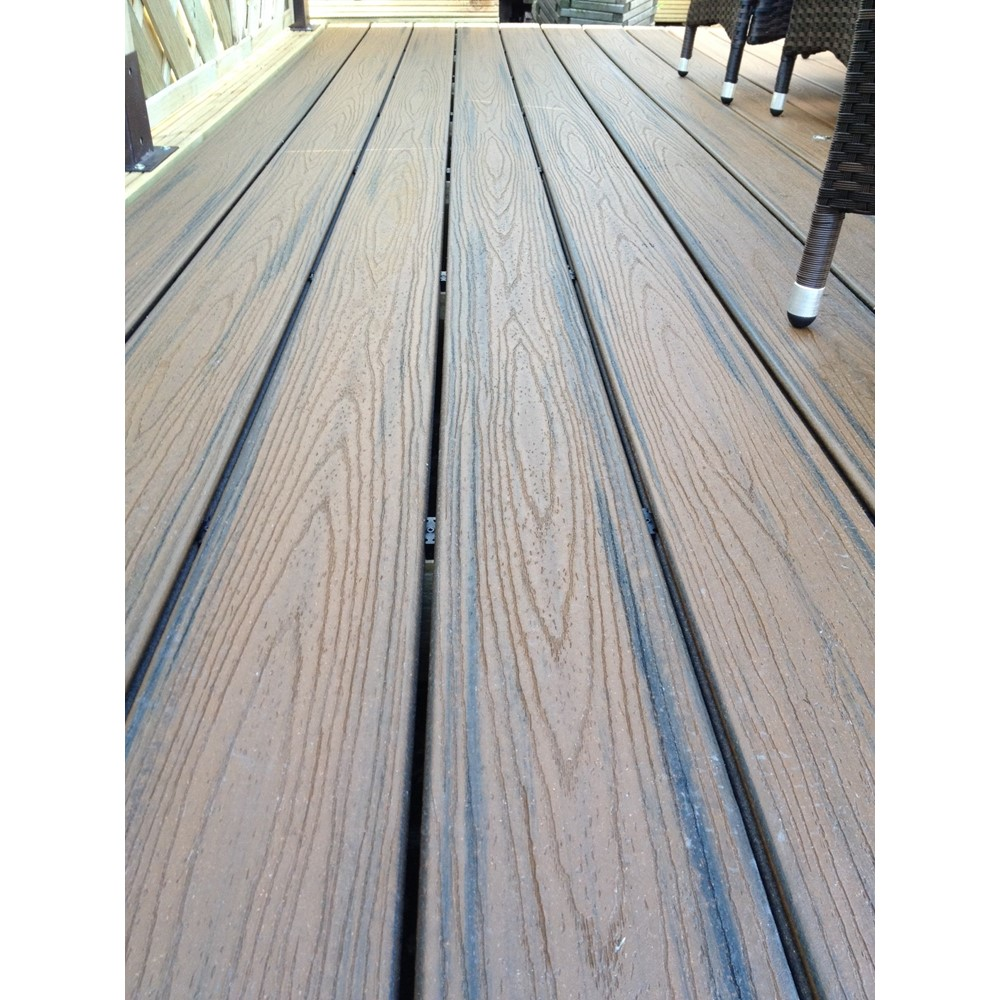 trex transcend spiced rum decking boards pre