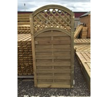 1800 x 900 Praga arched top gate