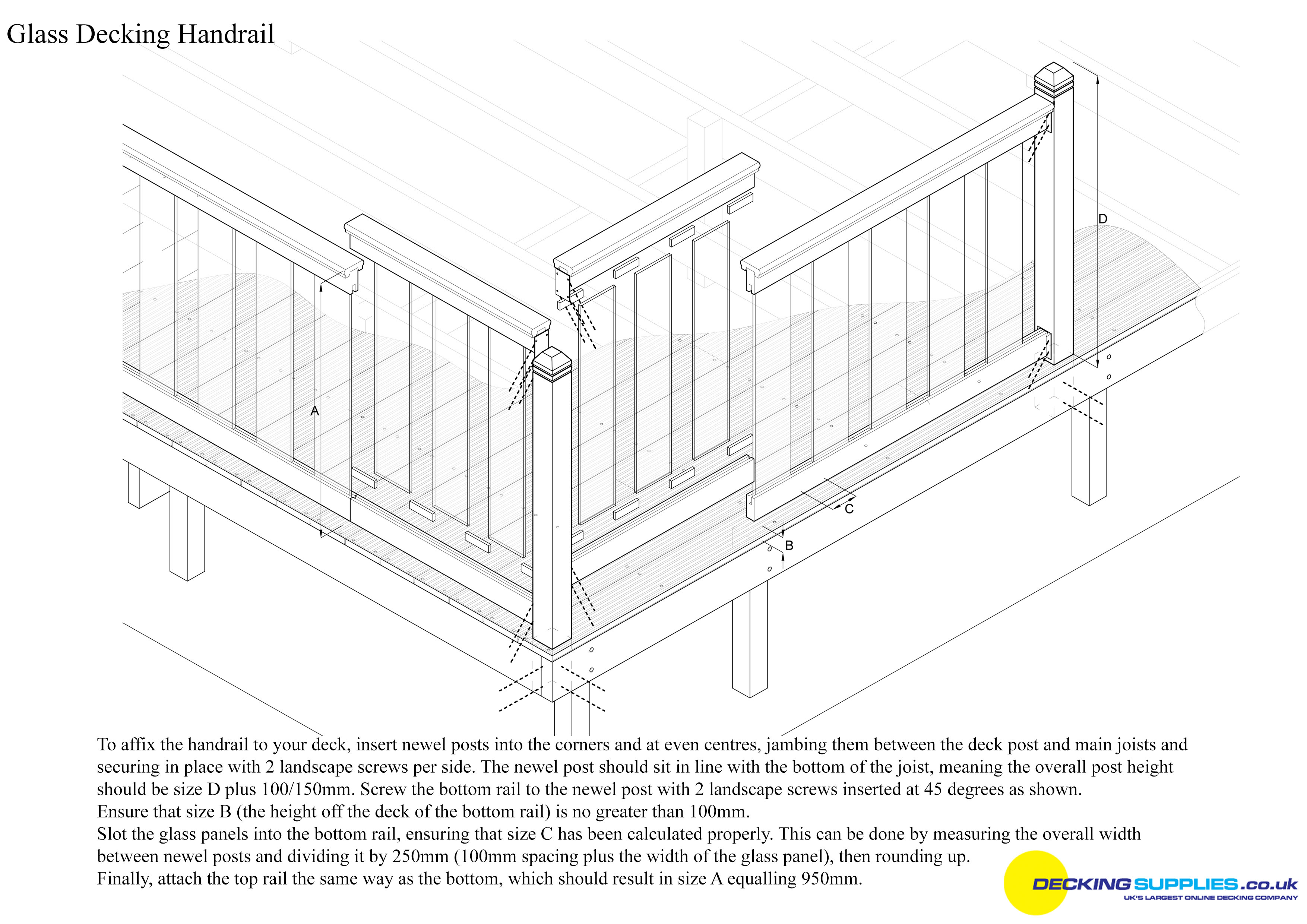 How to pre finished wooden flooring shawfield timber for Decking boards glasgow