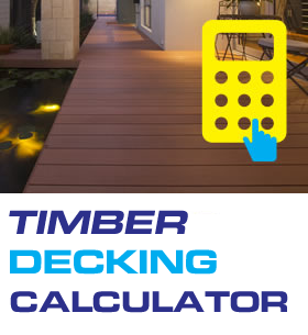 Timber decking decking calculator pre finished wooden for Timber decking calculator